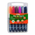Giz de Cera Color Gel 12 Unidades Léo e Léo