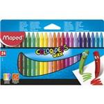 Giz de Cera Maped Color Peps Max 024 Cores 861013