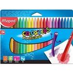 Giz de Cera Maped Color Peps Plasticlean 024 Cores