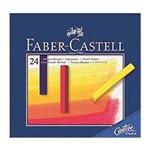 Giz Pastel Seco Longo Faber Castell Creative Studio com 24 Cores