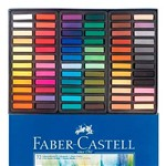 Giz Pastel Seco Macio Cs Caixa com 72 Cores 128272 - Faber Castell