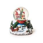 Globo de Neve Decoração Natal Papai Noel 19x17cm