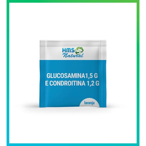 Glucosamina 1,5g + Condroitina 1,2g 30 Sachês Laranja