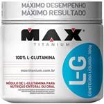 Glutamina L-g 300g - Max Titanium - Original