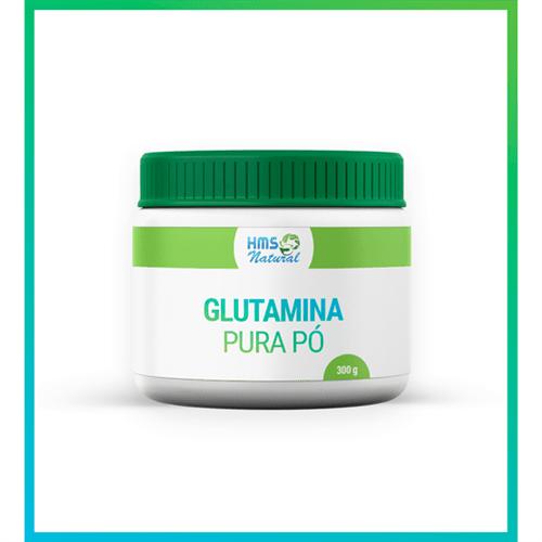 Glutamina Pura Pó Vegan 300gramas