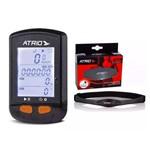 Gps Atrio Steel Bi132 Bluetooth Cadencia + Cinta Cardíaca Atrio Es055