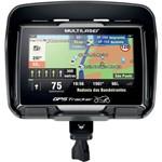 """Gps Multilaser Tracker para Moto com Tela Touch Screen de 4,3"""" Resistente à Água - Gp040 - Preto"""