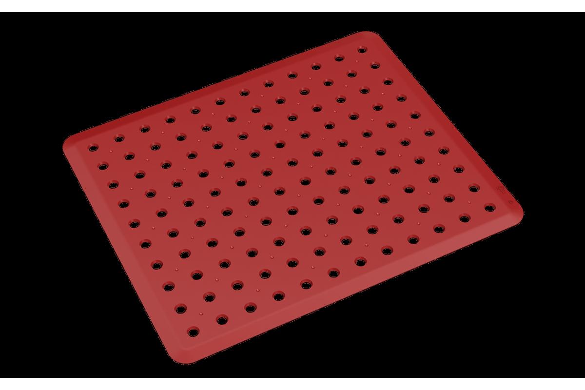 Grade de Pia Basic 32,8 X 27,8 X 0,3 Cm Vermelho Bold Coza