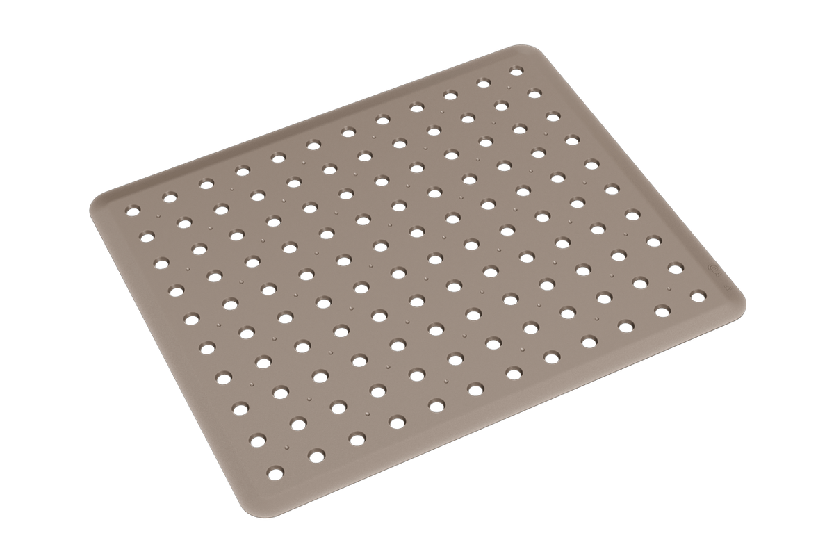 Grade de Pia Basic 32,8 X 27,8 X 0,3 Cm Warm Gray Coza