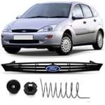 Grade Dianteira Ford Focus 2000 2001 2002 2003 com Emblema - Modelo Frisada