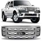Grade Dianteira Ford Ranger 2010 2011 2012 - Cromada