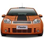 Grade Ford Fiesta 2008/2010 Filetes Sem Logotipo