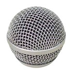 Grade Protetora para Microfone Cromada