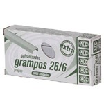 Grampo P/ Grampeador Acc Galvanizado 26/6 5000 Un Acc0134