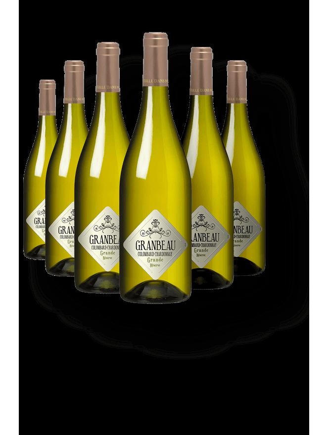 Granbeau Colombard - Chardonnay Grande Réserve - Kit com 6