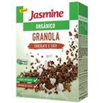 Granola Chocolate e Coco Orgânico 200g - Jasmine