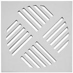 Grelha Aluminio Quadrada 15x15 (sem Fecho)