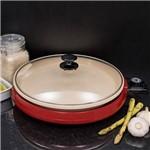 Grill Elétrico Ceramic Pan Grl350 Vermelho - Cadence
