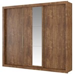 Guarda-Roupa Ástor 1072 C/ Espelho - Carraro | Elare
