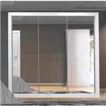 Guarda-roupa 3 Portas com Espelho Ele Ela - Leifer Móveis