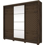 Guarda Roupa 3 Portas Henn Cancun D199-101 Cafe se