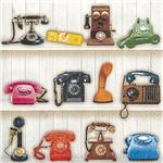 Guardanapo 20059 Telefones Retrô