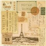 Guardanapo 19587 Lembranças de Paris
