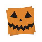 Guardanapo de Papel Folha Dupla Halloween Abóbora 25x25cm - 20un Cromus Festas