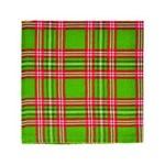 Guardanapo de Tecido Verde Vermelho 45 X 45 Cm