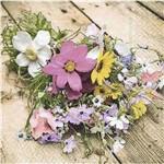 Guardanapo Decoração Flores Campestres Gua200462 - Toke e Crie