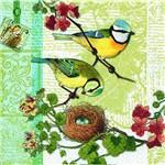 Guardanapo Descartável Familia de Pássaros