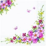 Guardanapo Descartável Flores Charmosas