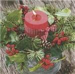 Guardanapo Natal Toke e Crie Decoração Natalina - 5 Unid