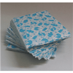 Guardanapo Papel Chá Bebê Azul 20x21 Guardanapo de Papel Chá de Bebê Azul 20cmx21cm - 50 Unidades