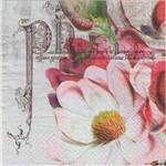 Guardanapo para Decoupage Toke e Crie – 17531 – Flor Magnífica (Com 02 Unidades)