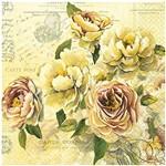 Guardanapo para Decoupage Toke e Crie com 20 Unidades - Floral Romântico Gua200258 - 19596