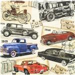 Guardanapo para Decoupage Toke e Crie Gcd211625 – 17711 – Carros Vintage (Com 02 Unidades)