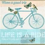 Guardanapo Toke e Crie Bicicleta Retrô - 5 Unid