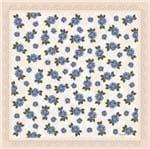 Guardanapo Toke e Crie By Mamiko Mini Flores Azuis - 5 Unid