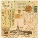 Guardanapo Toke e Crie Lembranças de Paris - 5 Unid