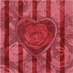 Guardanapo Toke e Crie Rosas de Amor - 5 Unid