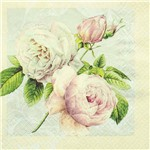 Guardanapo Toke e Crie Rosas Vintage - 5 Unid