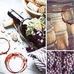 Guardanapo Toke e Crie Traços de Vinho - 5 Unid