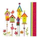 Guardanapos Casas de Passarinhos com 2 Unidades Ref.13181-GCD211256 Toke e Crie