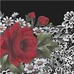Guardanapos Rosas Vermelhas com 2 Unidades Ref.20931-GBM044 Toke e Crie
