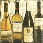 Guardanapos Vinhos Clássicos com 2 Unidades Ref.19591-GUA0851 Toke e Crie