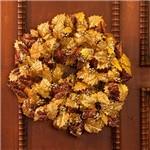 Guirlanda Folhas Douradas e Cobre, 45cm - Christmas Traditions