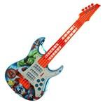 Guitarra Eletrônica Infantil - os Vingadores - Marvel - Toyng