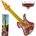 Guitarra Infantil Acustica Carros Grande na Cartela