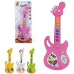 Guitarra Musical Infantil Baby Brinca Bebe Colors a Pilha na Cartela